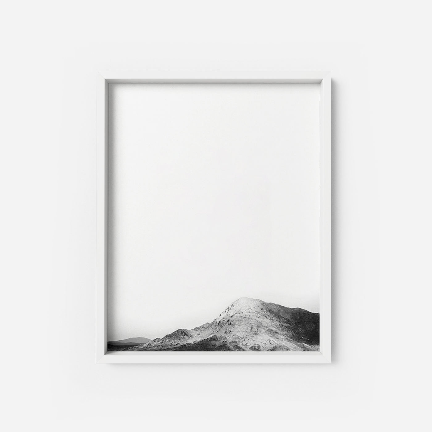 Snowy Mountain - THE PRINTABLE CONCEPT - Printable art posterDigital Download -