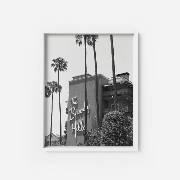 The Beverly Hills Hotel - THE PRINTABLE CONCEPT - Printable art posterDigital Download -