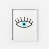 The Evil Eye - THE PRINTABLE CONCEPT - Printable art posterDigital Download -