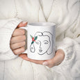Christmas-Girl Mug - THE PRINTABLE CONCEPT - Printable art posterDigital Download -