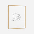 Elephant - THE PRINTABLE CONCEPT - Printable art posterDigital Download -
