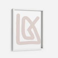 Pink Abstraction 1 - THE PRINTABLE CONCEPT - Printable art posterDigital Download -