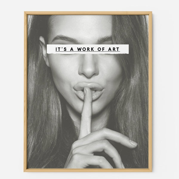 It's a work of art - THE PRINTABLE CONCEPT - Printable art posterDigital Download -