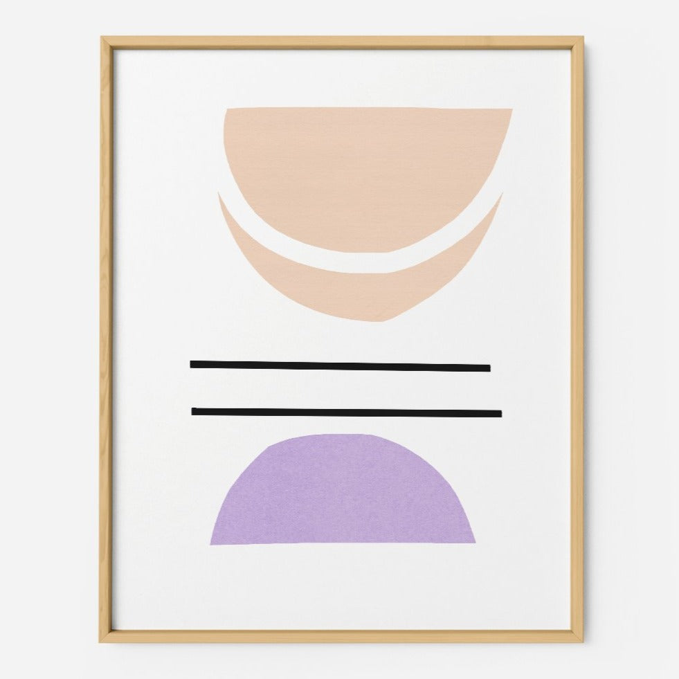 Pastel Abstract - THE PRINTABLE CONCEPT - Printable art posterDigital Download -