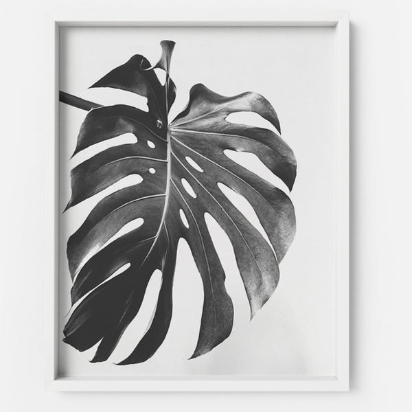 Monstera 3 - THE PRINTABLE CONCEPT - Printable art posterDigital Download -