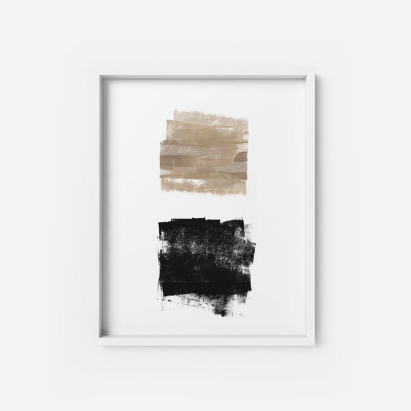Nude and Black - THE PRINTABLE CONCEPT - Printable art posterDigital Download -