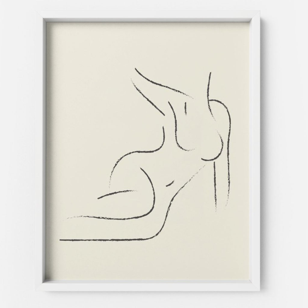 Nude - THE PRINTABLE CONCEPT - Printable art posterDigital Download -