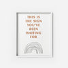 This is the Sign - THE PRINTABLE CONCEPT - Printable art posterDigital Download -