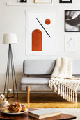 Burnt Orange 2 - THE PRINTABLE CONCEPT - Printable art posterDigital Download -