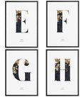 Les Lettres - THE PRINTABLE CONCEPT - Printable art posterDigital Download -