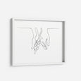 Lover's Hands - THE PRINTABLE CONCEPT - Printable art posterDigital Download -