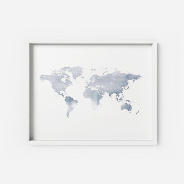 The World 1 - THE PRINTABLE CONCEPT - Printable art posterDigital Download -
