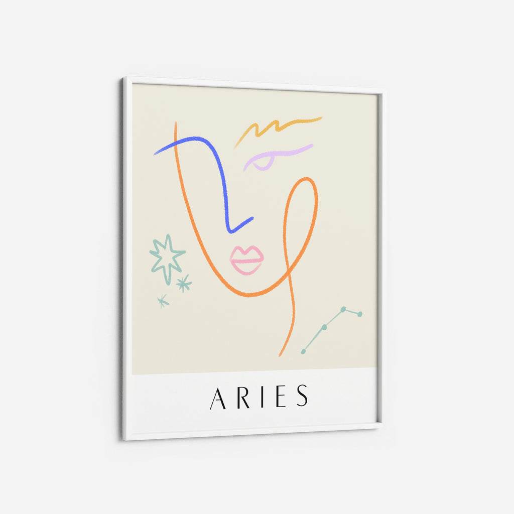 Aries - THE PRINTABLE CONCEPT - Printable art posterDigital Download -