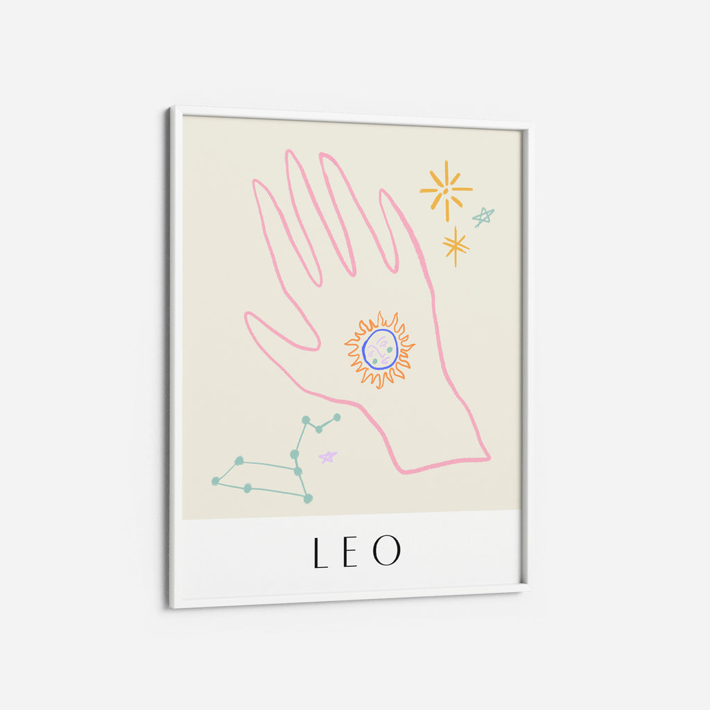 Leo - THE PRINTABLE CONCEPT - Printable art posterDigital Download -