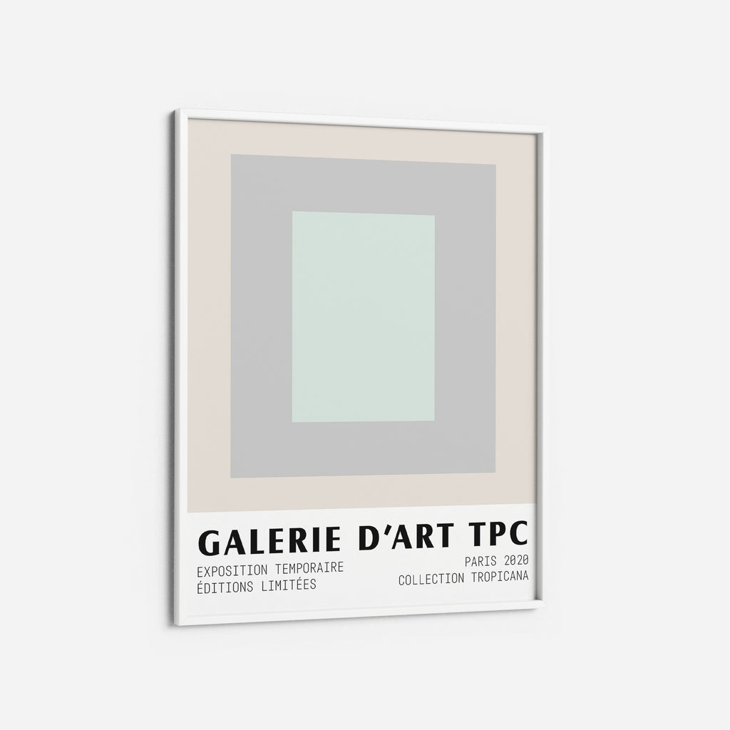 Pastel Blue Grey Midcentury printable Wall Art the Printable Concept