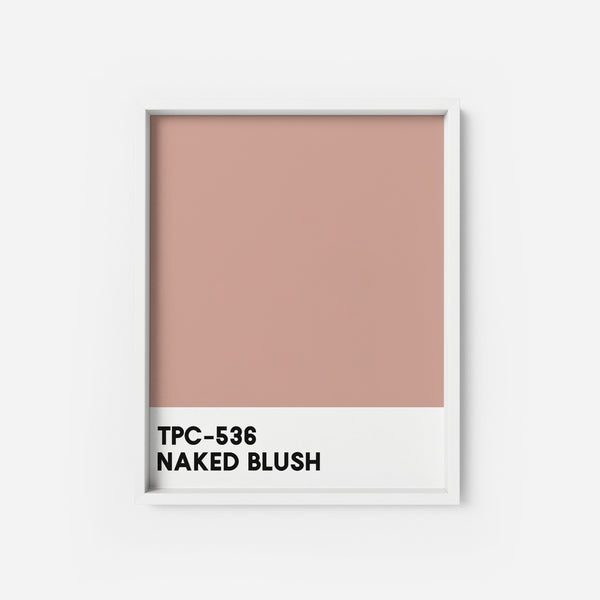 Naked Blush - THE PRINTABLE CONCEPT - Printable art posterDigital Download -