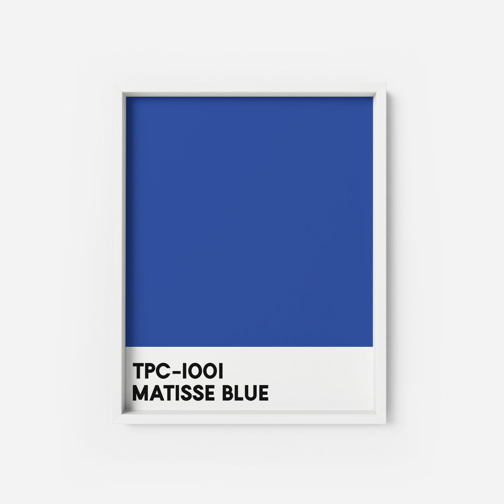 Matisse Blue - THE PRINTABLE CONCEPT - Printable art posterDigital Download -