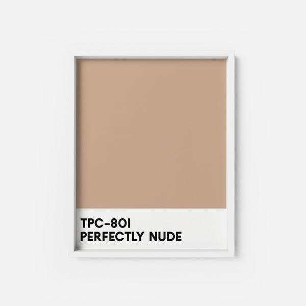 Perfectly Nude - THE PRINTABLE CONCEPT - Printable art posterDigital Download -