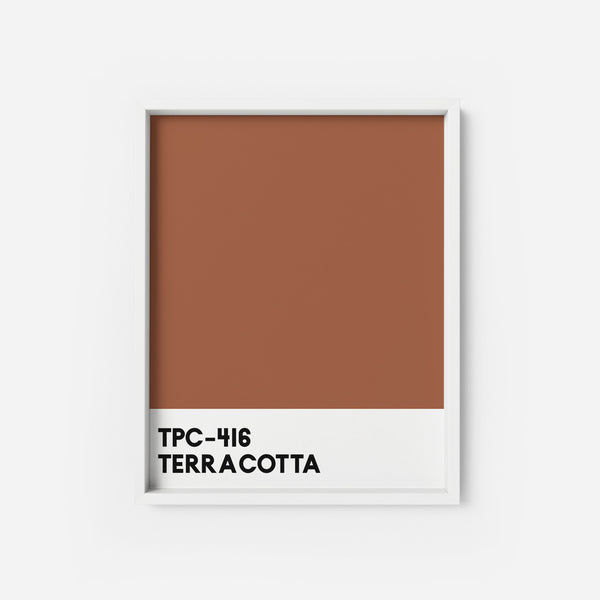Terracotta - THE PRINTABLE CONCEPT - Printable art posterDigital Download -