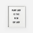 Plant Lady - THE PRINTABLE CONCEPT - Printable art posterDigital Download -