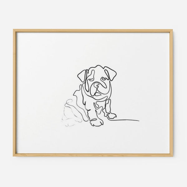 Puppy - THE PRINTABLE CONCEPT - Printable art posterDigital Download -