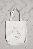Line Drawing 1 Tote - THE PRINTABLE CONCEPT - Printable art posterDigital Download -