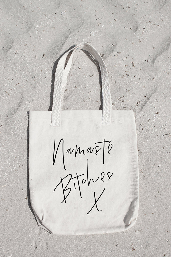 Namasté Bitches! Tote - THE PRINTABLE CONCEPT - Printable art posterDigital Download -