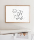 Puppies - THE PRINTABLE CONCEPT - Printable art posterDigital Download -