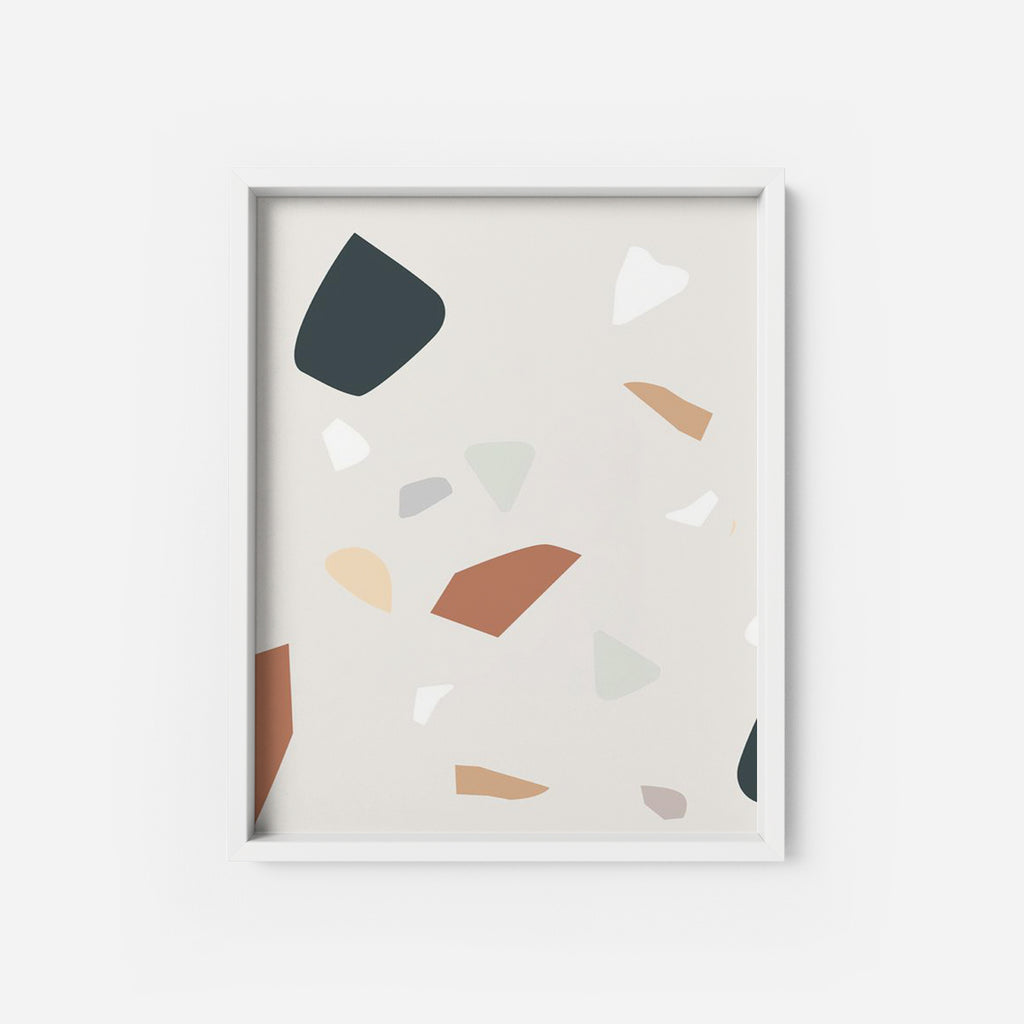 Terrazzo - THE PRINTABLE CONCEPT - Printable art posterDigital Download -