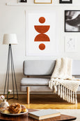 Burnt Orange - THE PRINTABLE CONCEPT - Printable art posterDigital Download -