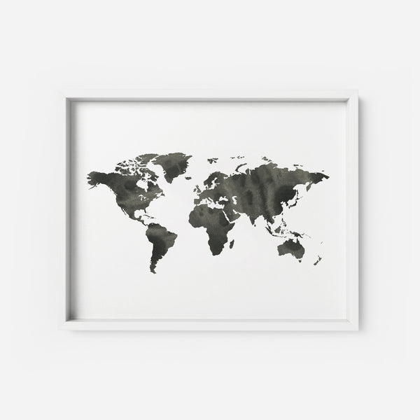The World 2 - THE PRINTABLE CONCEPT - Printable art posterDigital Download -