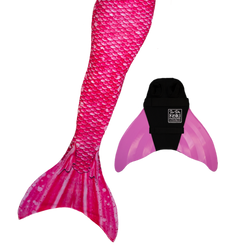 Bahama Pink Swimmable Mermaid Tail