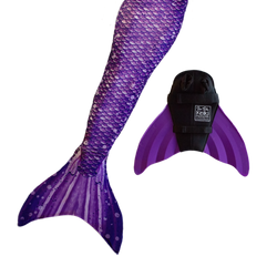 Paradise Purple Swimmable Mermaid Tail