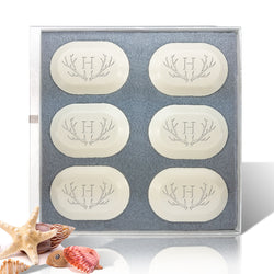 Eco Luxury Antler Monogram Soap Set