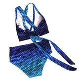 Mermaid Bikini Set Ocean Deep