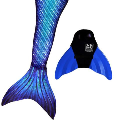 Mermaid Tail-Ocean Deep Pattern-Swimmable Mermaid Tail