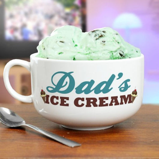 Personalized Ice Cream Bowl-Ice Cream Bowl-Custom Ice Cream Bowl