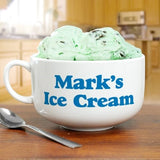 Personalized Ceramic Any Message Cereal or Ice Cream Bowl