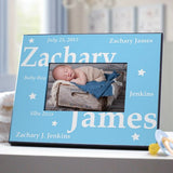 New Baby Girl Personalized Frame-New Baby Boy Personalized Frame-Custom New Baby Frame