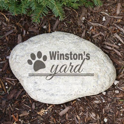 Personalized Dog Garden Stone