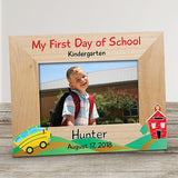 My First Day of School Frame-Personalized Back to School Frame