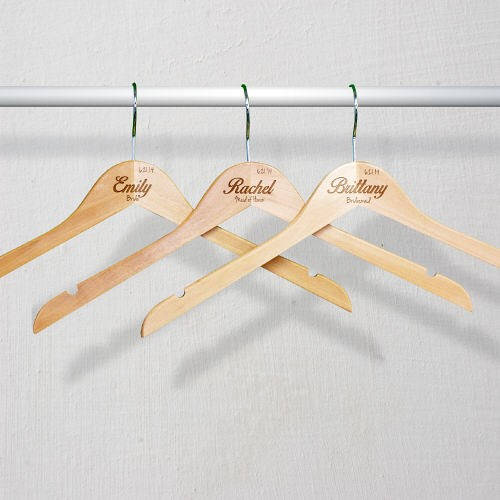 Personalized Wedding Party Hangers-Engraved Wedding Party Hangers