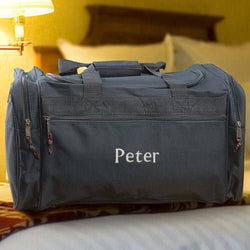 Personalized Travel Duffel Bag-Embroidered Duffel Bag