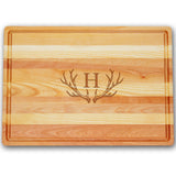 Antler Personalized Master Cutting Board