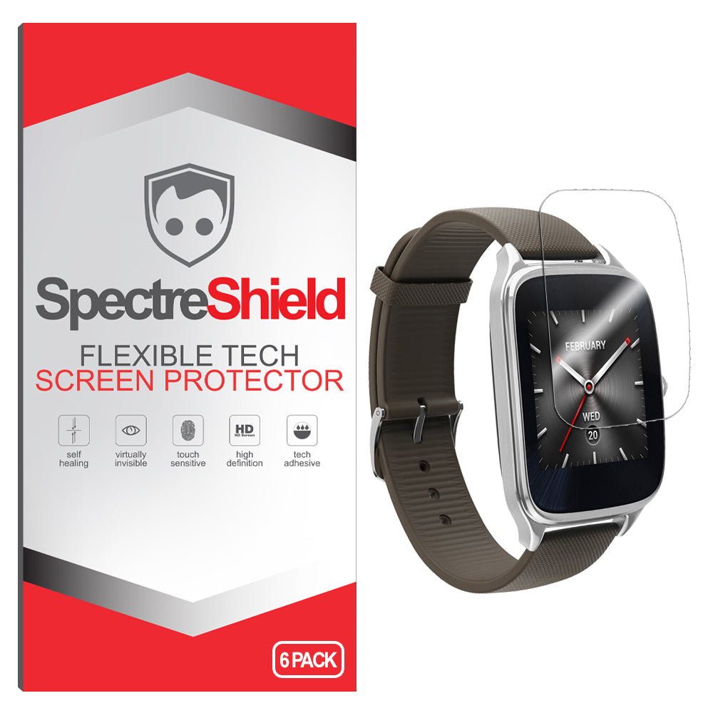 [6-Pack] Asus Zenwatch 2 (1.63 in) Screen Protector