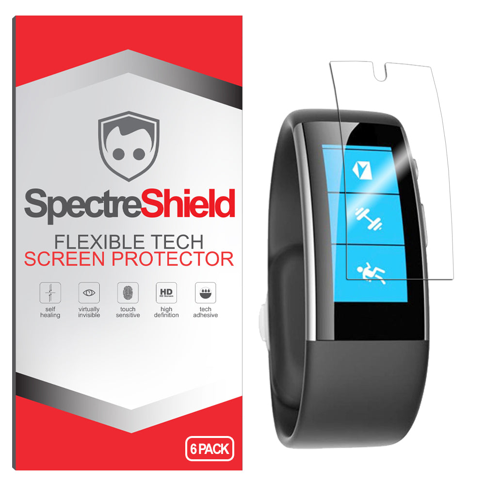 [6-Pack] Microsoft Band 2 Screen Protector