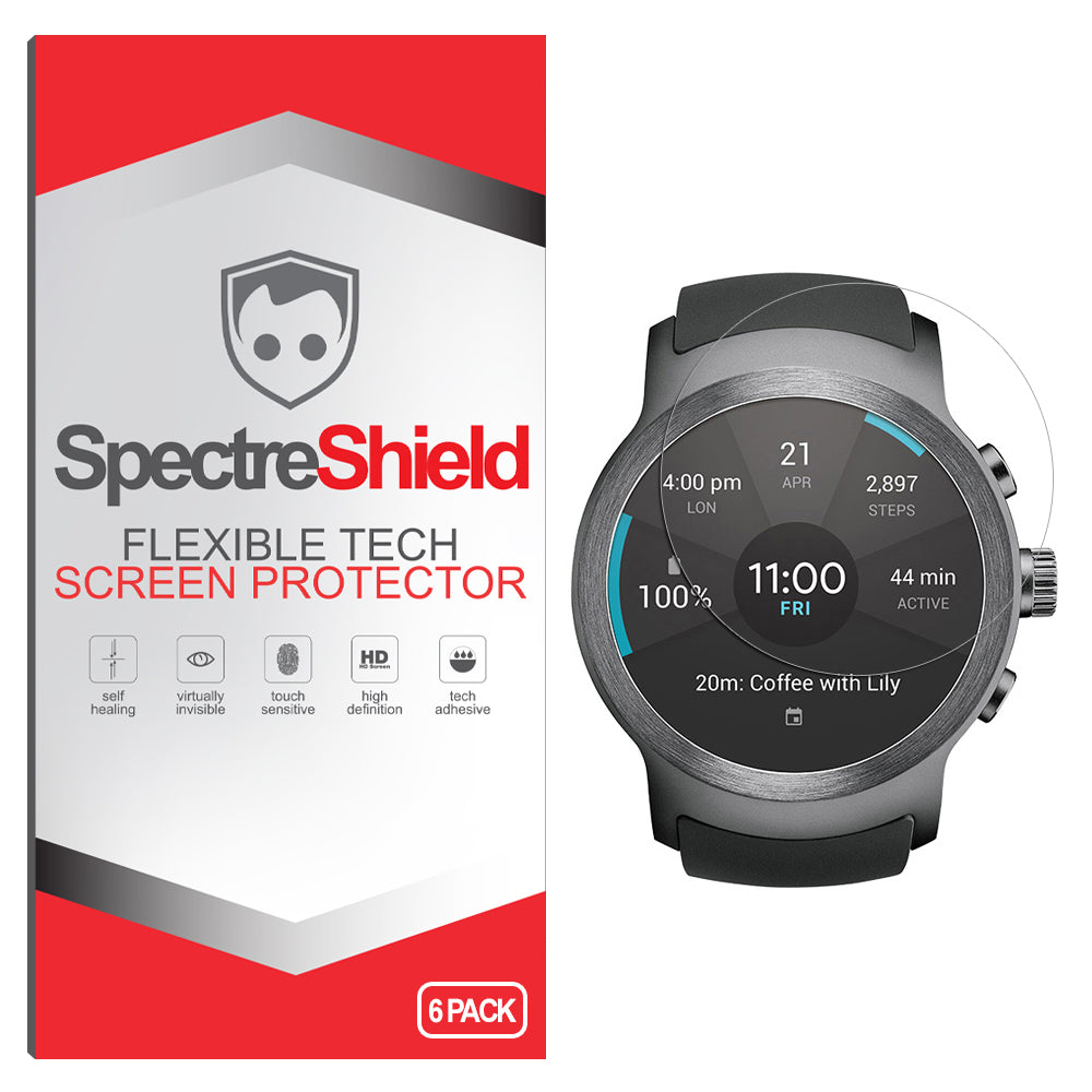 [6-Pack] LG Watch Sport Screen Protector