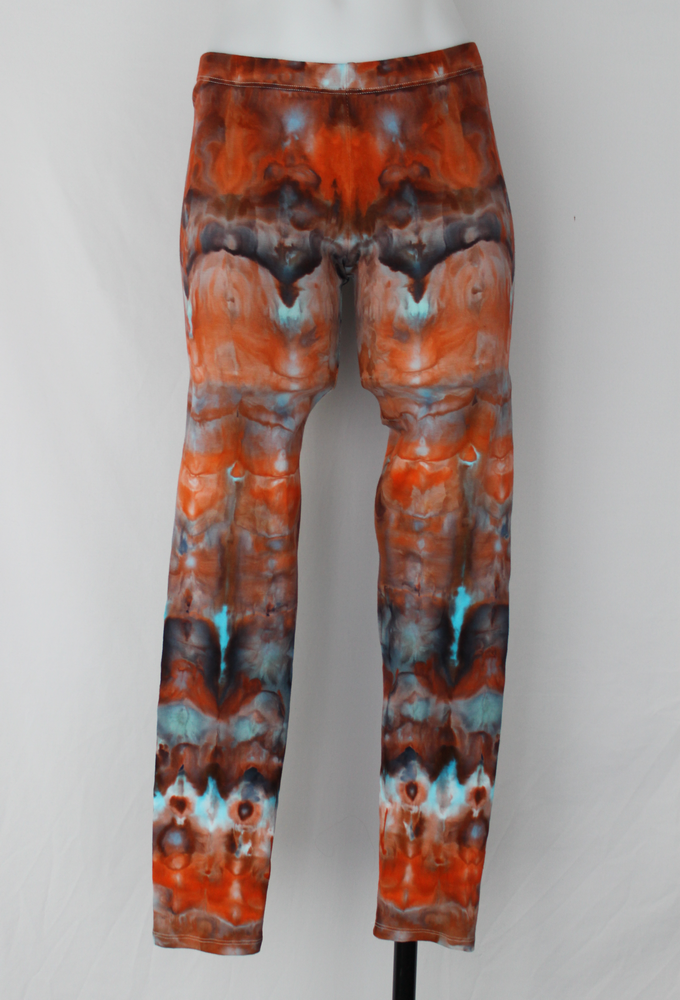 Leggings size Medium - Arizona Sky snakeskin