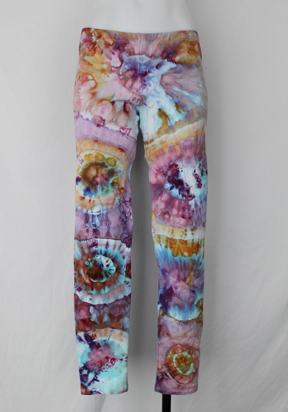 Leggings size Large - Carnival bulls eye