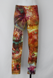 Leggings size Large - Confetti bulls eye